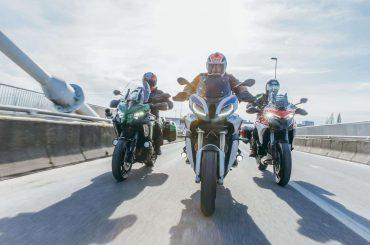 Multitest: BMW S 1000 XR vs. Ducati Multistrada V4S vs. Kawasaki Versys 1000 SE
