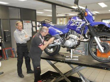 Yamaha XT600E – Marathonmotor