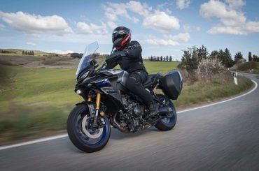 Eerste test 2021 Yamaha Tracer 9 (GT)