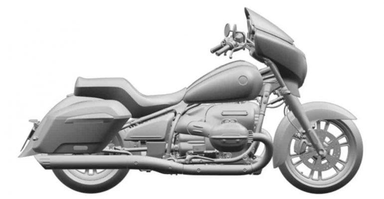 BMW R18 Touring en Bagger: nieuwe patenten