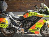 Blood Bikes Scotland verwelkomt nieuwe Zero SR/S