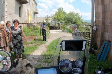 Itchy Boots en de wereld: Armeense Gastvrijheid