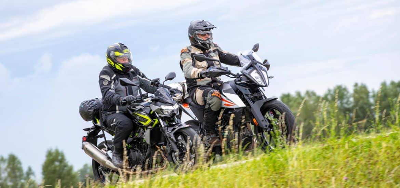 Kawasaki Z400 vs. KTM 390 Adventure
