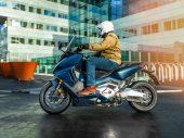 Eerste test 2021 Honda Forza 750
