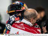 De tranen van Fabio Di Giannantonio in beeld