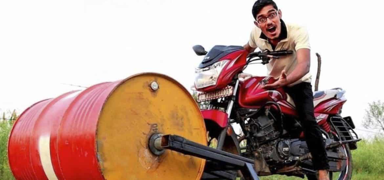 Indiase vlogger
