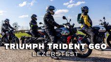 Triumph Trident 660 – Lezerstest 2021