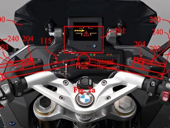 BMW patenteert 'gebarentaaltechnologie' voor motorfietsen