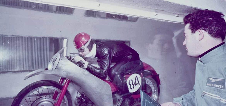 windtunnel van Moto Guzzi