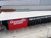 Goedhart Motoren wordt uitgebreid en krijgt een tijdelijke Pop-Up Outlet
