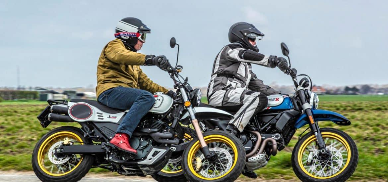 Mash X-Ride 650 vs. Ducati Desert Sled