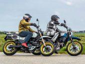 Dubbeltest Mash X-Ride 650 vs. Ducati Desert Sled