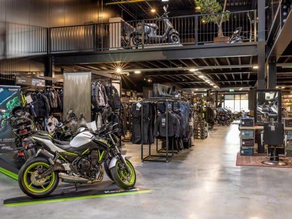 MotoVeda maakt de Veluwe rijp voor Kawasaki