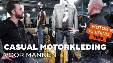 Casual motorkleding voor mannen | Motorkledingtips