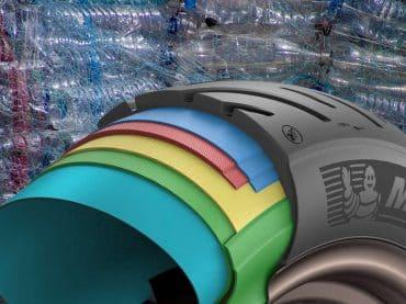 Michelin zet miljoenen PET-flessen om in banden