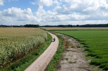 Motorhike op de Veluwe