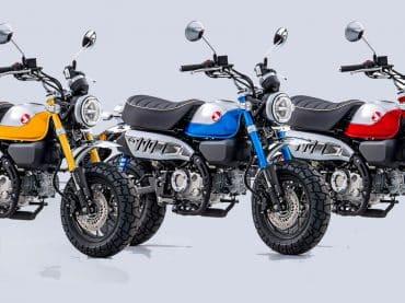 2022 Honda Monkey heeft het blok van de MSX en is Euro5