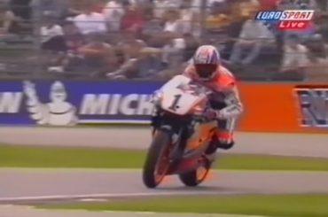Zondagmorgenfilm: Mick Doohan in 1998 op het TT Circuit