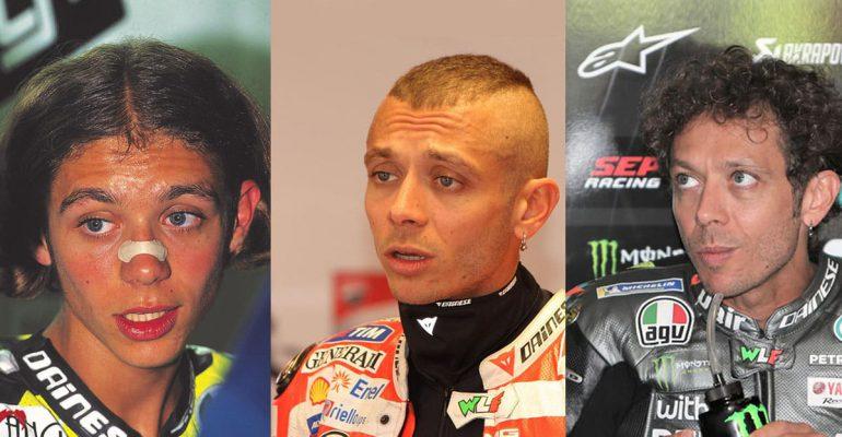 Valentino Rossi en Assen; een kwart eeuw geschiedenis in beeld