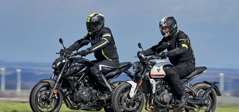 Triumph Trident 660 vs Yamaha MT 07