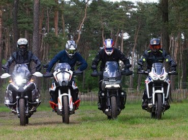 Multitest: Harley-Davidson Pan America, BMW 1250GS, Honda AT en KTM Super Adventure R