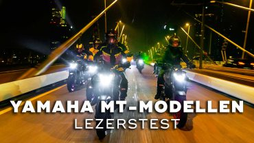 2021 Yamaha MT-07 / MT09 Nachtrit door Rotterdam – Lezerstest