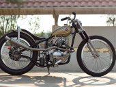 Klassieke custom was een nieuwe Kawasaki
