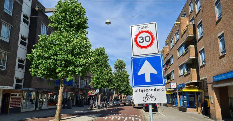 Maximumsnelheid op meeste wegen in Amsterdam omlaag naar 30 km per uur