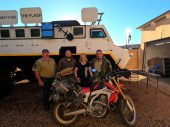 'Soms kan een buitenlands reisavontuur op de motor héél erg spannend worden' – Itchy Boots