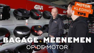 Bagagemogelijkheden voor op de motorfiets | Motorkledingtips