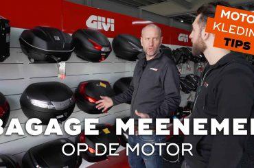 Bagagemogelijkheden voor op de motorfiets   Motorkledingtips