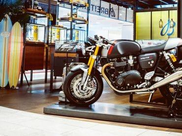 Triumph en Breitling kondigen langdurig partnerschap aan