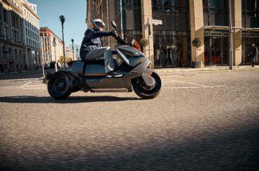 BMW CE 04, BMW's elektrische motorscooter van de toekomst