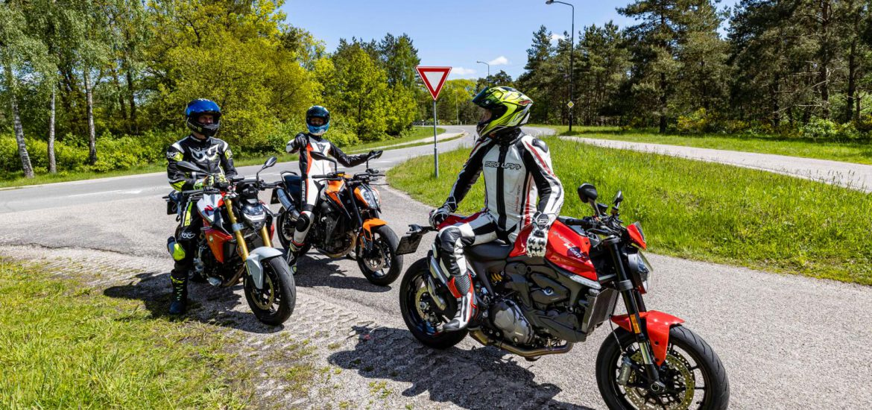 BMW F 900 R vs. Ducati Monster + vs. KTM 890 Duke