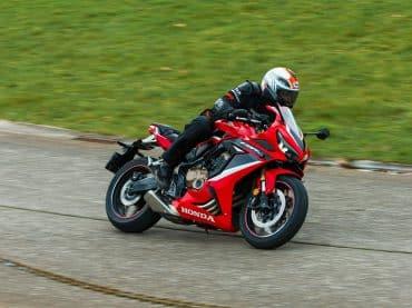 Eerste test 2021 Honda CBR650R
