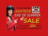 END OF SUMMER SALE bij Arie Molenaar Motors