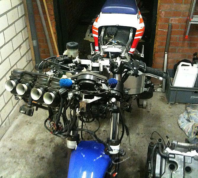 Honda CBR900RR Nokkenasketting
