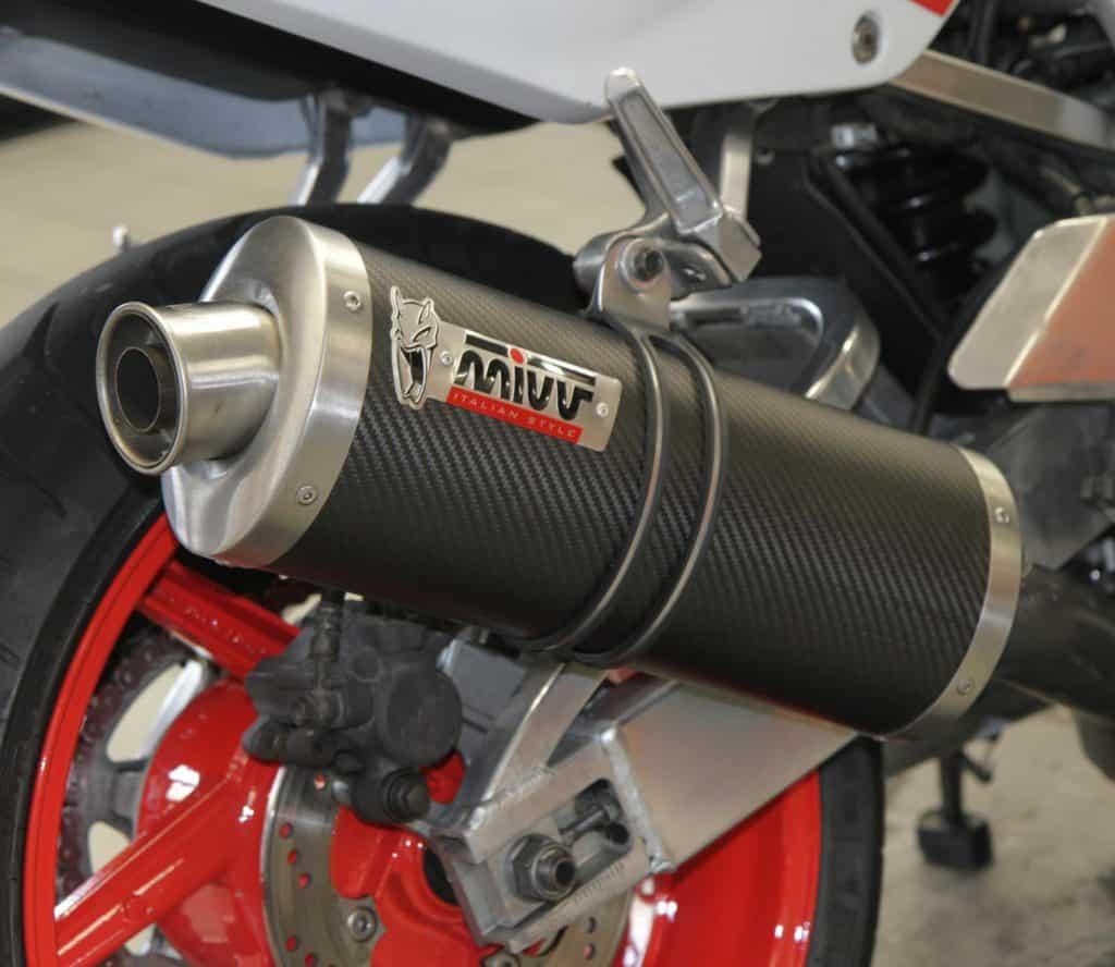 Honda CBR900RR Fireblade Uitlaat