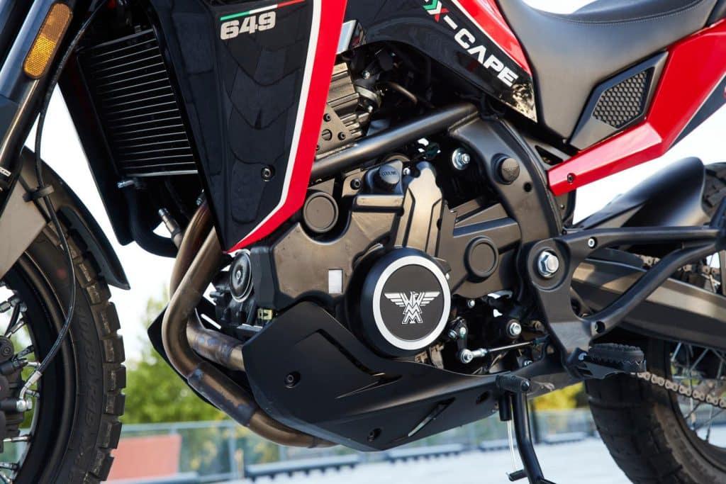 Moto Morini X-Cape Motorblok