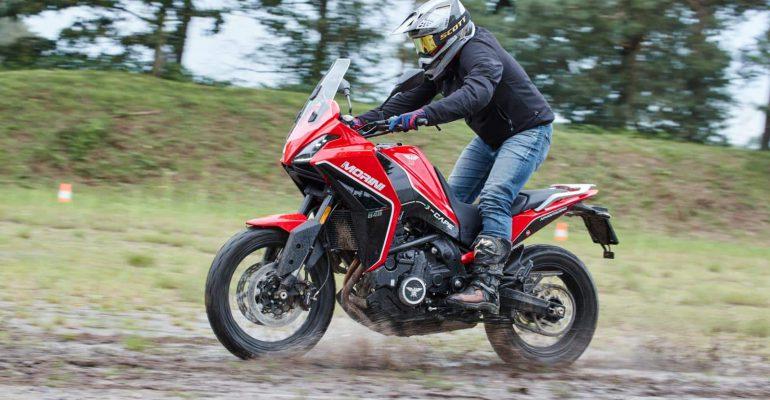 Moto Morini X-Cape: een pré-productie test