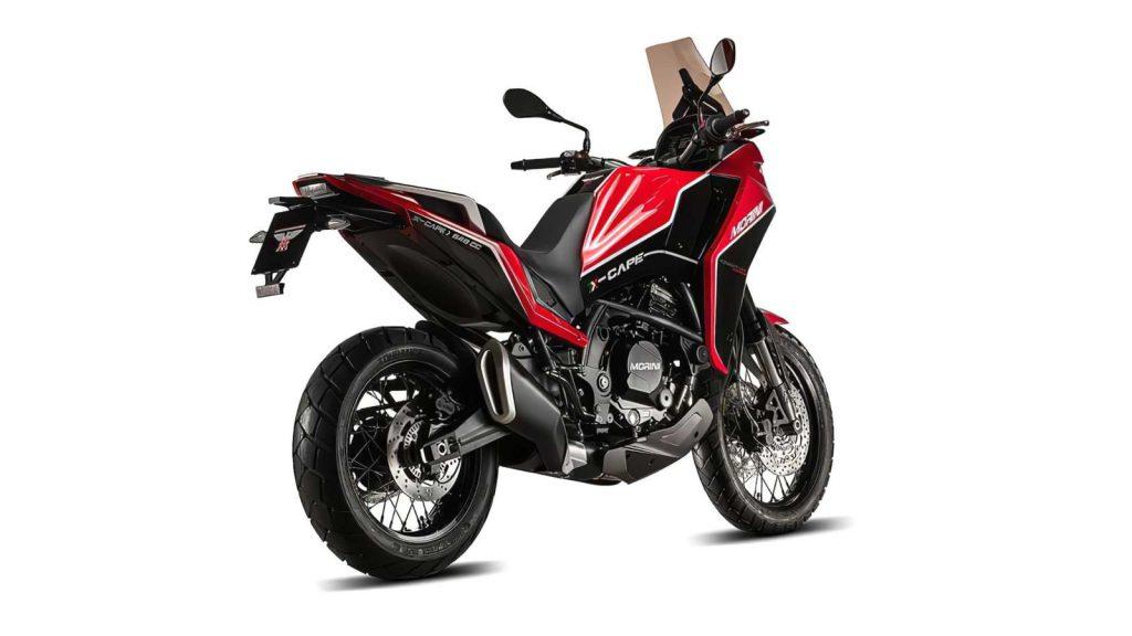 Moto Morini X-Cape Achterkant