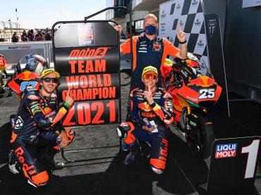 Moto2 Aragón & San Marino: Red Bull KTM Ajo-team wereldkampioen