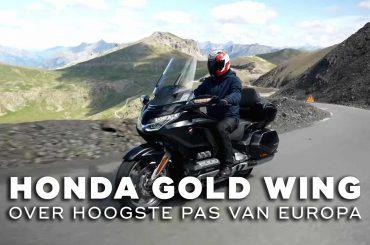 Met de 2021 Honda GL1800 Gold Wing over de hoogste pas van Europa: Col de la Bonette