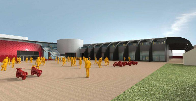 Moto Guzzi start eind 2021 bouw nieuwe fabriek