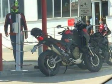 Ducati Streetfighter V2 en Multistrada Pikes Peak gespot?