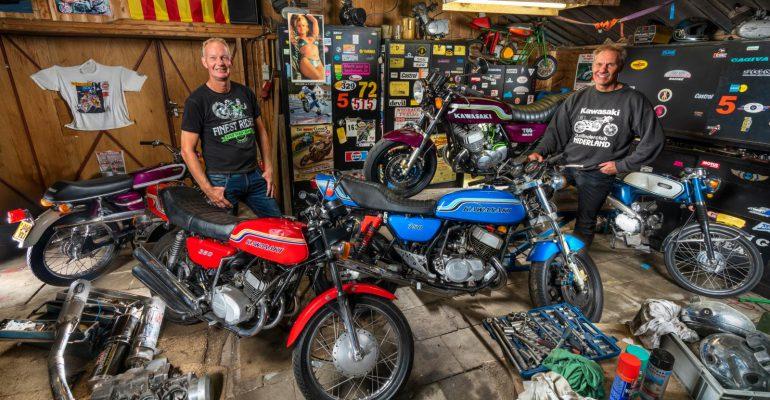 """De schuur van Ron en George: 'Suzuki stond voor """"stuur jezelf de kist in""""'"""