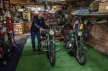 De Ariel Colts van Aad Versteeg: 'We moeten die lichte motorfietsjes koesteren'