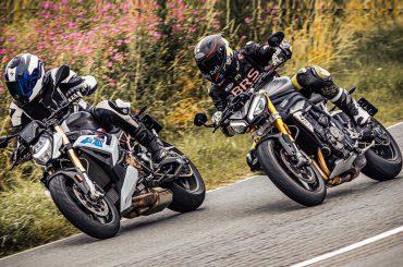 Dubbeltest: BMW S 1000 R vs Triumph Speed Triple RS