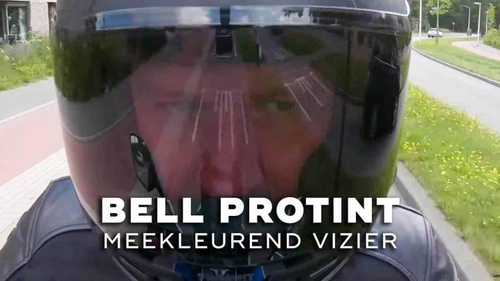 Bell ProTint: meekleurend vizier voor je motorhelm