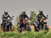 Triotest: Ducati Monster, KTM Duke 890 & Yamaha MT-09